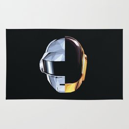 Daft Punk Polygon Rug