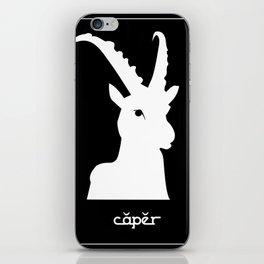 Capricorn ~ Caper ~ Zodiac series iPhone Skin