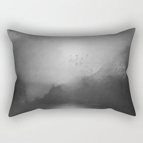 Black and White - Poesia Rectangular Pillow