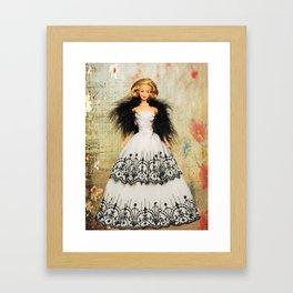 Summer Sophisticate Barbie Framed Art Print