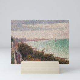 "Georges Seurat ""Grandcamp, un soir"" Mini Art Print"