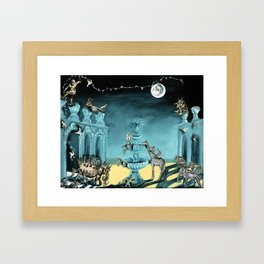 Drawing Down the Moon Framed Art Print