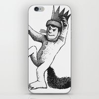 wild things iPhone & iPod Skins featuring Wild things by MrWhite