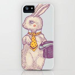 magic Rabbit iPhone Case