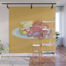 Sponge Cake Dessertopus Wall Mural