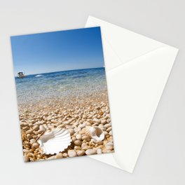 Shell Beach Stationery Cards