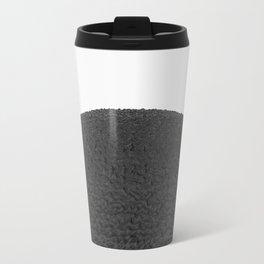 Black sphere Metal Travel Mug