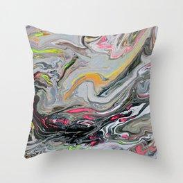 Toxic 5 Throw Pillow