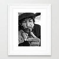 captain silva Framed Art Prints featuring Silva by Lucas Zappa