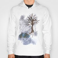 climbing Hoodies featuring Tree Climbing by Ericaphant