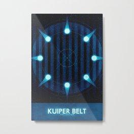 Sol System - Kuiper Belt Metal Print