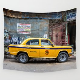 Taxi India Wall Tapestry