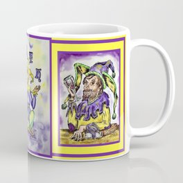 Mirth Juggling Jester #2 Between Two Toasting Jesters Coffee Mug
