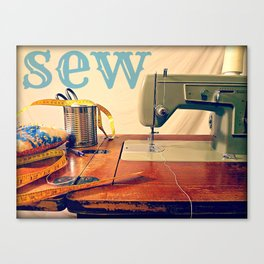 SEW Canvas Print
