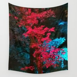 iDeal - Trippy Trees 01 Wall Tapestry