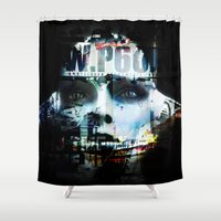 android Shower Curtains featuring Android by Studio46
