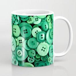 Button Green Coffee Mug