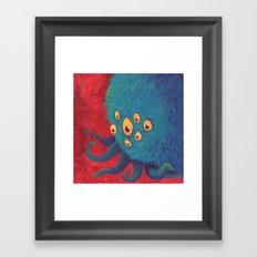 Monsters: Steve Framed Art Print