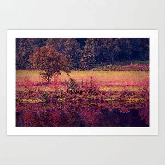 agosto Art Print