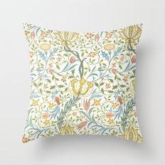 William Morris Flora Throw Pillow