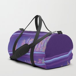 Saturnian Ultraviolet Wave Two Duffle Bag