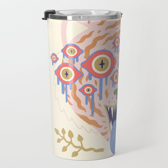 Eyes of the Tiger Travel Mug