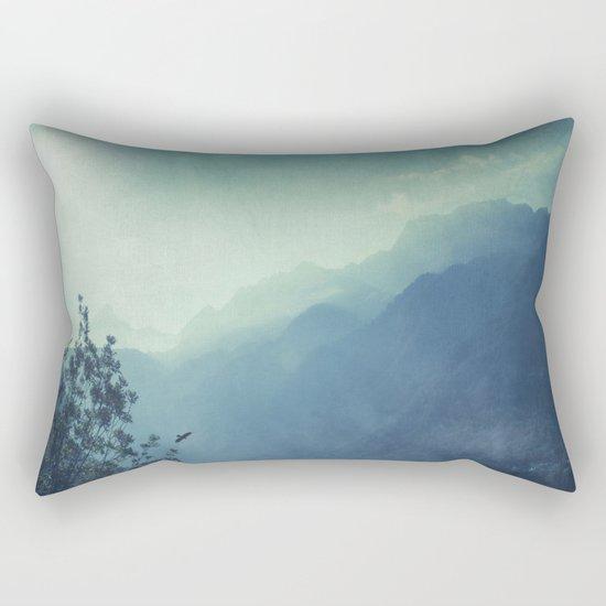 mountain blues Rectangular Pillow