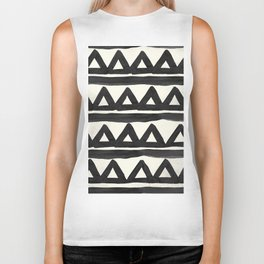 Chevron Tribal Biker Tank