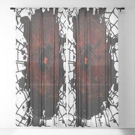 Black Widow (Signature Design) Sheer Curtain