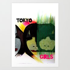 Tokyo Girls Art Print