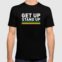 Get Up Stand Up / Rasta Vibrations T-shirt