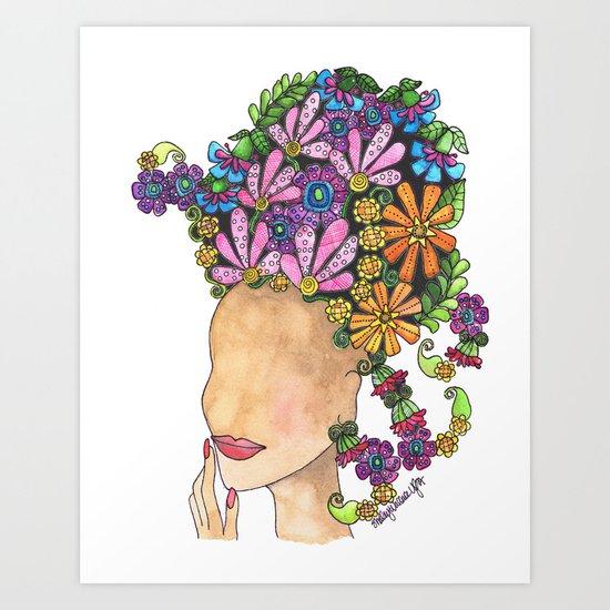 Glamour Art Print