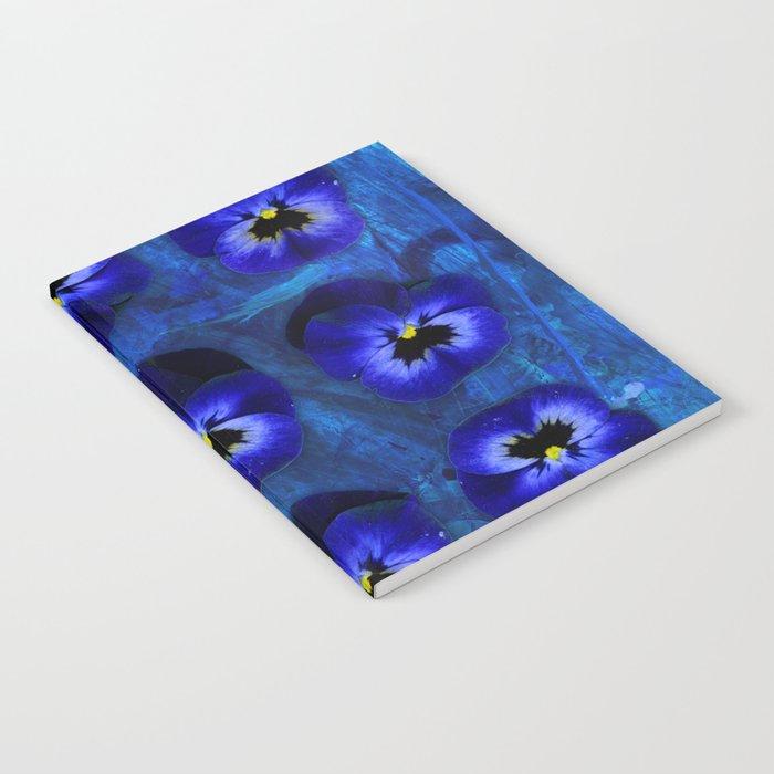 Deep Blue Velvet Notebook