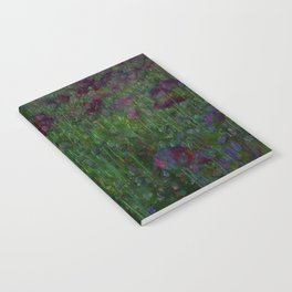 Poppy Meadow Notebook