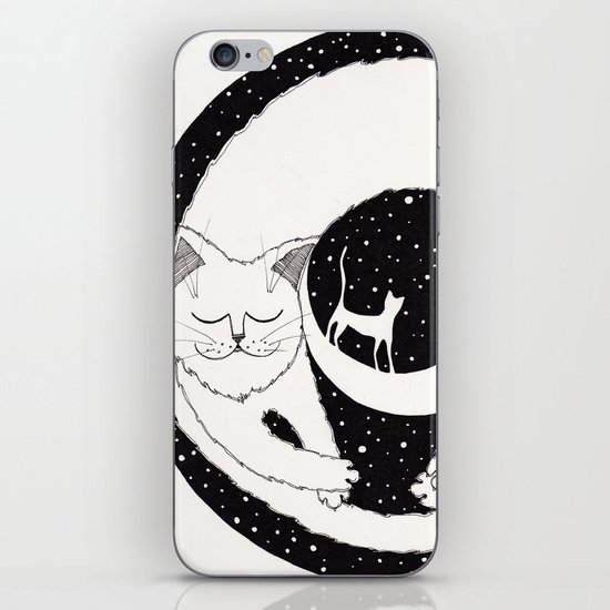 cats life: dreaming iPhone Skin