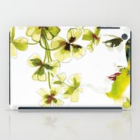 clover iPad Cases featuring Clover by Ekaterina Koroleva