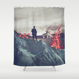 Everything Led me Here Shower Curtain