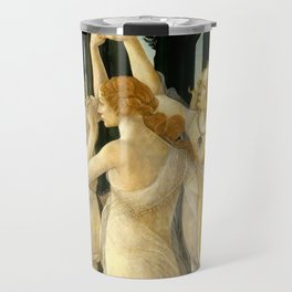 "Sandro Botticelli ""Spring"" The Three Graces (1) Travel Mug"