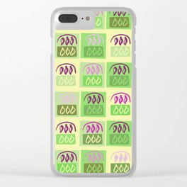 Lemon & Plums Clear iPhone Case