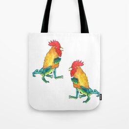 The frog wants to be a chicken Tote Bag