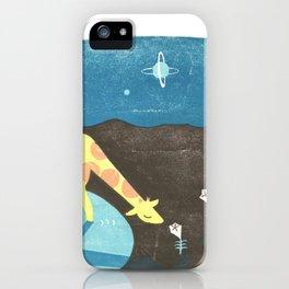 Lonesome Giraffe iPhone Case