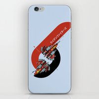 foo fighters iPhone & iPod Skins featuring Raiden Fighters by Slippytee Clothing