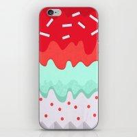 cupcake iPhone & iPod Skins featuring Cupcake by Kakel