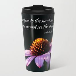 Facing the Sunshine Travel Mug
