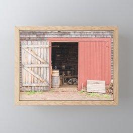 Ross Farm Museum Framed Mini Art Print