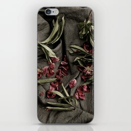 """Peonies are beautiful from the """"bud to to the end."""" iPhone Skin"""