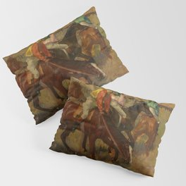 "Edgar Degas ""Before the race"" Pillow Sham"