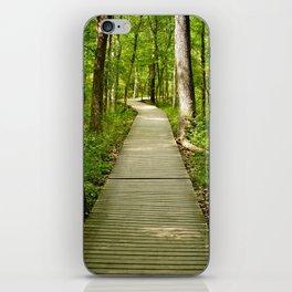 Forest Boardwalk iPhone Skin
