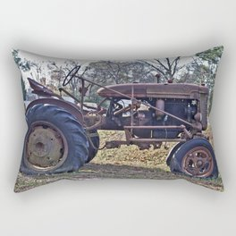 Old Tractors Never Die Rectangular Pillow