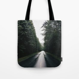 Middle of the road Canada Tote Bag